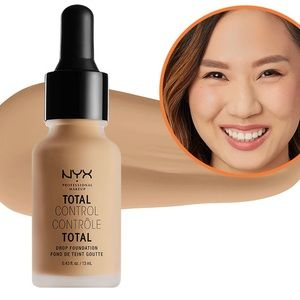 NYX total control drop foundation Camel